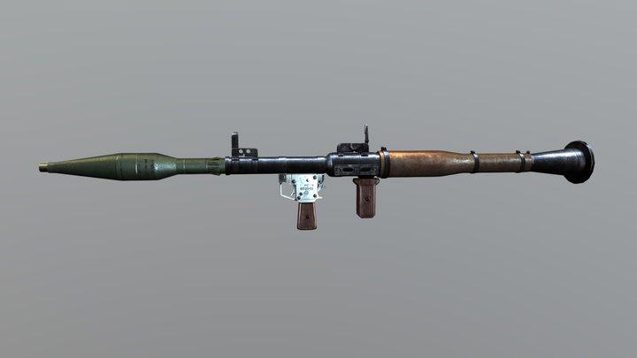 Rpg7 - Anti Tank 3D Model