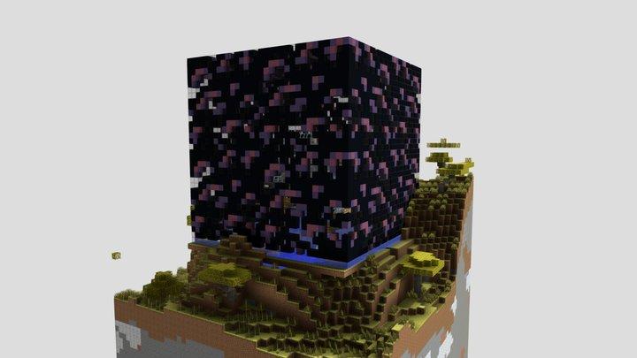 Seaworld - Obsidian farm, made pretty 3D Model