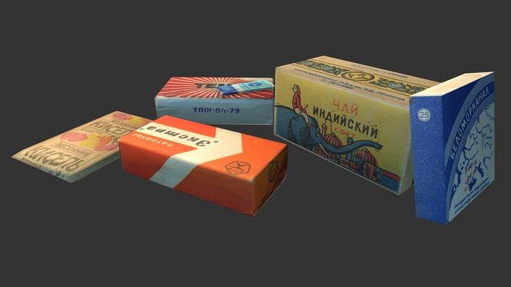 USSR Props 3D Model