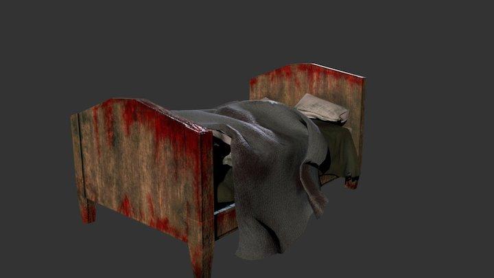 blood bed 3D Model