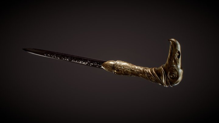 Assassin's Creed Syndicate Cane Sword 3D Model