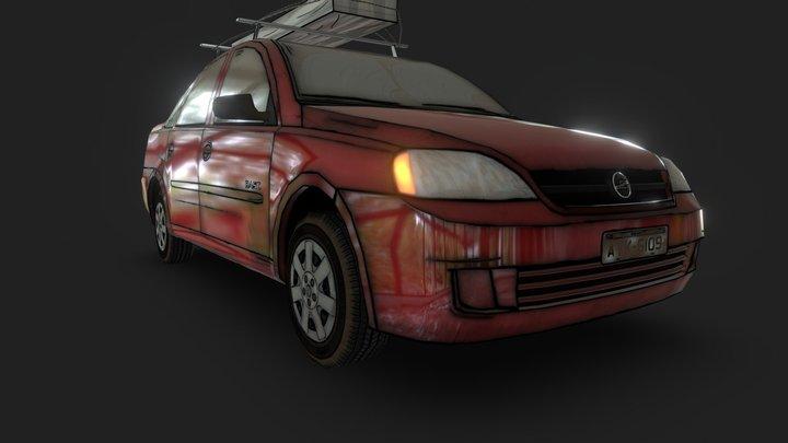Car - Chevrolet Corsa 3D Model
