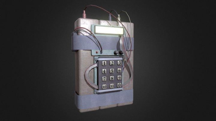 Simple Old C4 3D Model