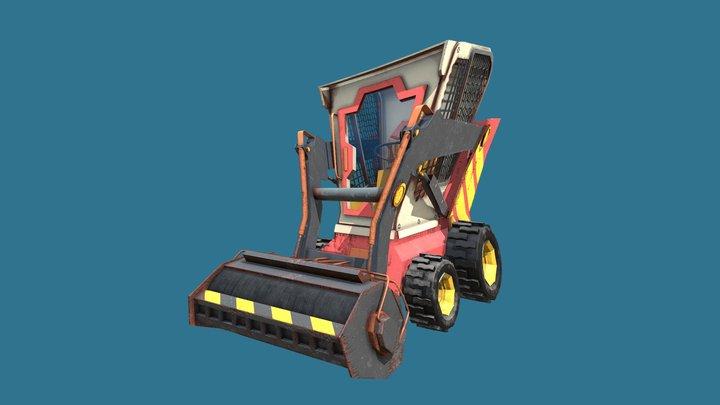 Steamroller 3D Model
