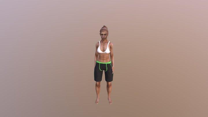 Paula Pountnutz 3D Model