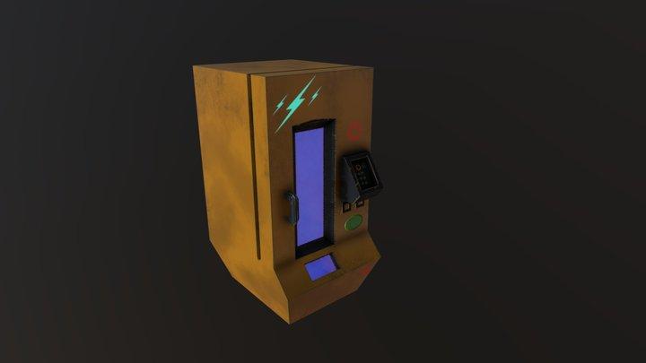 vending machine lowpoly 3D Model
