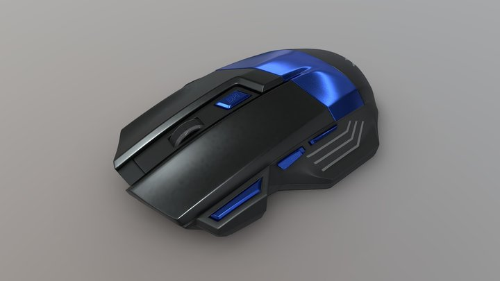 Ice Claw mouse 3D Model