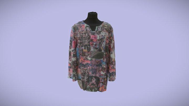 Fashion Jacket - AOTD #1 3D Model