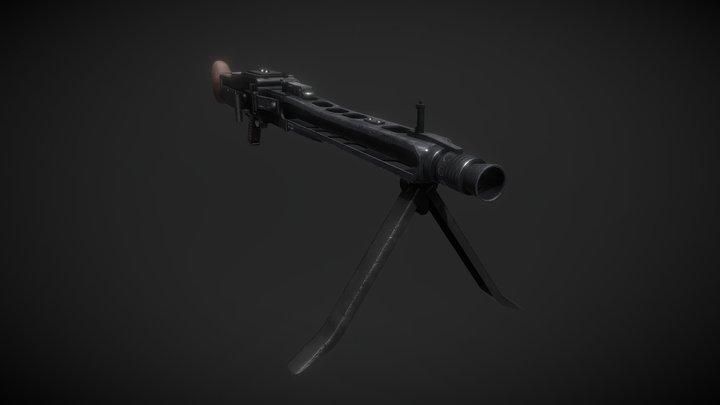 Maschinengewehr MG42 3D Model