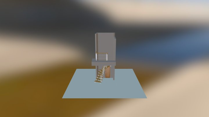 Niedzielski schody PATRYKO-RZYMSKIE 3D Model