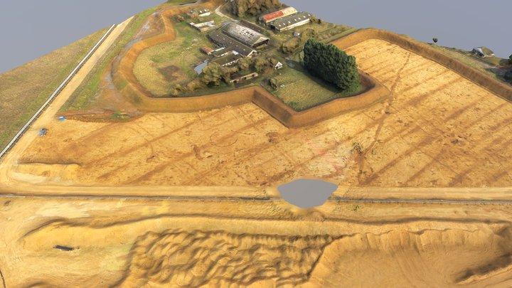 Cotswold excavations 3D Model