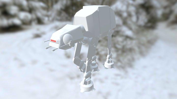 AT-AT Study Reloaded 3D Model