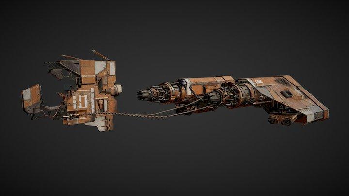 Star Wars - Pod Racer 3D Model