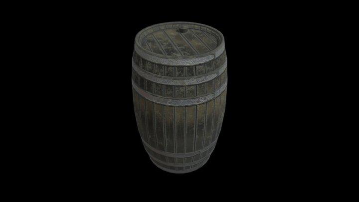 Weebles 1st Barrel LP 3D Model