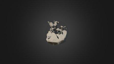 Chinese Mitten Crab Anthropomorphic_WIP 3D Model
