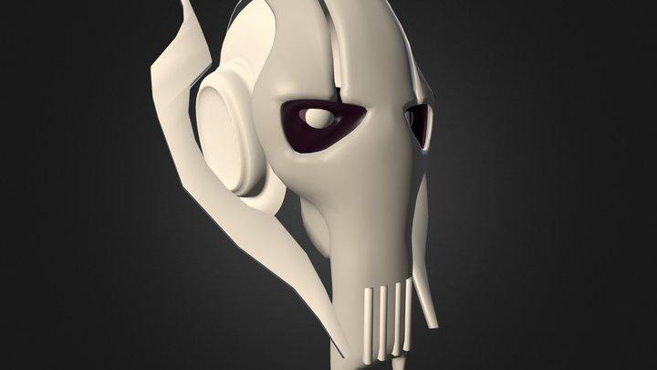 Grievous Head 3D Model