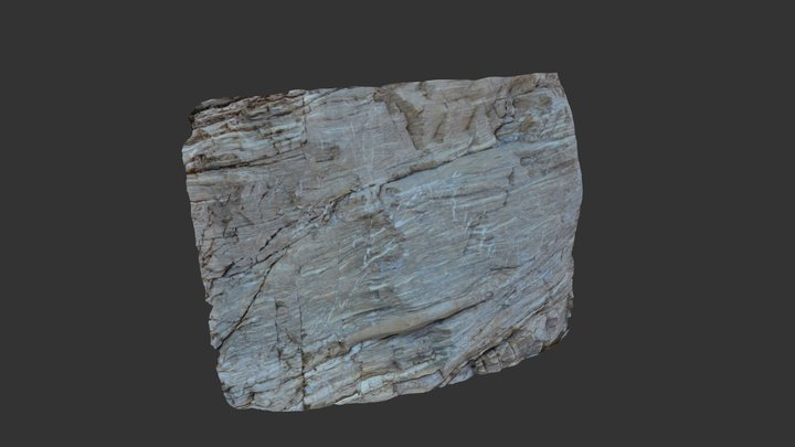 Mosaic Canyon Detachment Fabric 3D Model