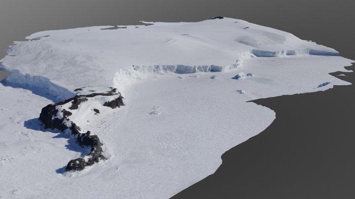 Oscar Point, Antarctica 3D Model