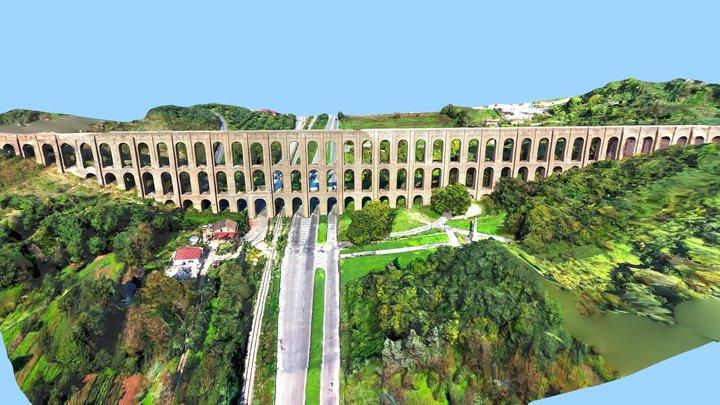 Caroline Aqueduct Of Vanvitelli 3D Model