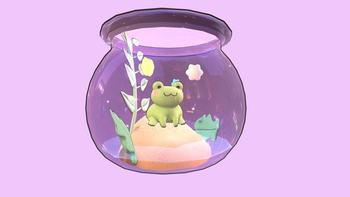 Froggy Terranium 3D Model