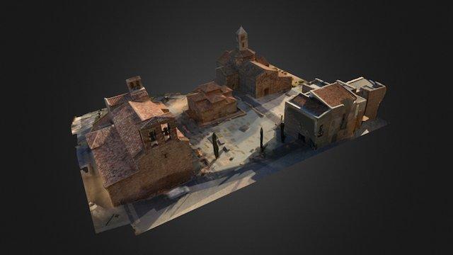 3D Iglesias Sant Pere 3D Model