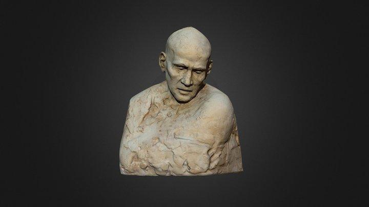 Hombre Busto 3D Model