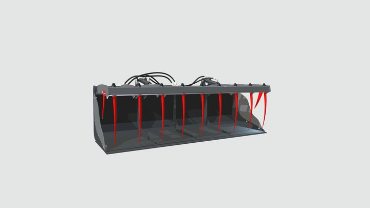 SK KROSON 2400 BEZ LOGO 3D Model