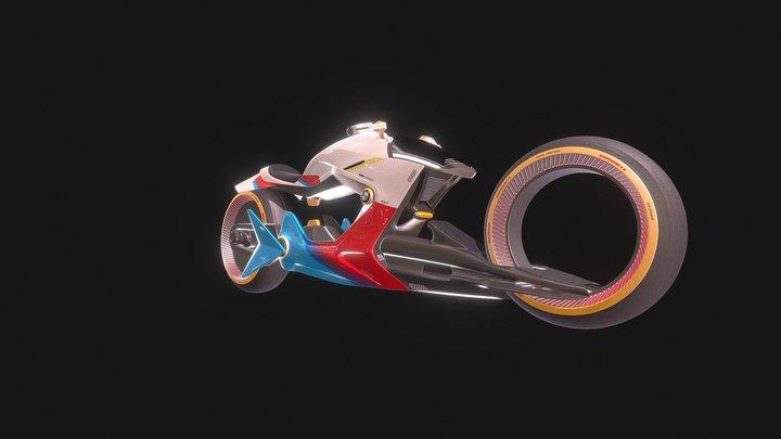 BMW Bike Concept 3D Model
