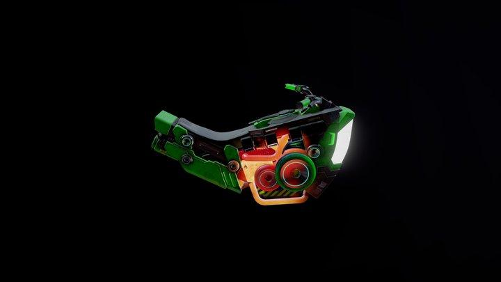 Hoverbike 3D Model