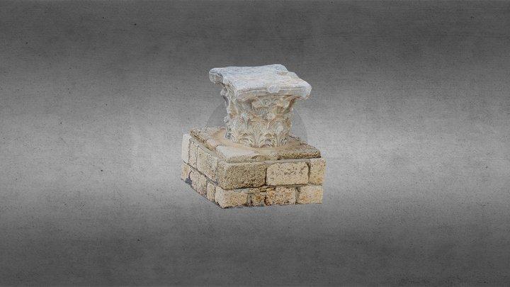 3D scan of a Capital by Yitzhak Marmelstein 3D Model