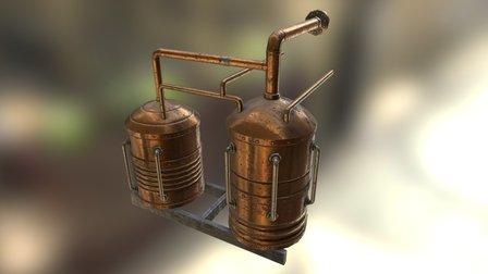 Beer apparatus 3D Model