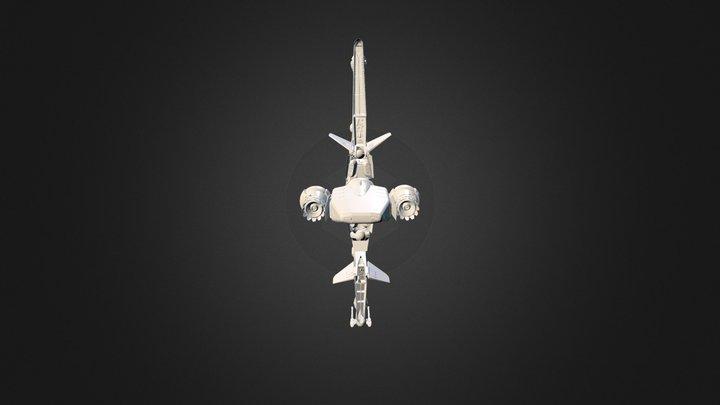 Star Citizen: MISC Reliant 3D Model