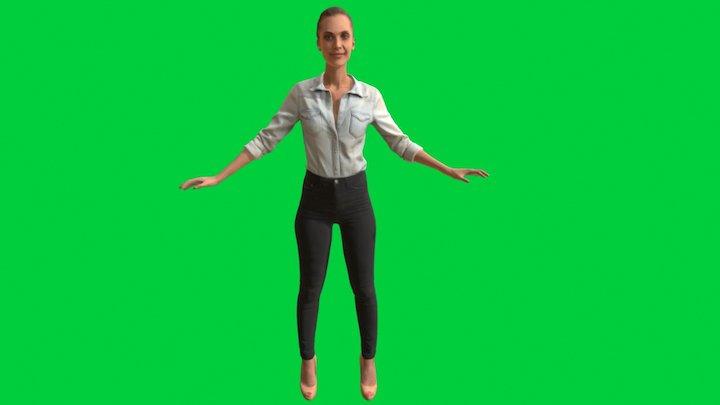 Davia MadMag 3D Model