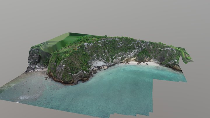 Falaise de Moya - Mayotte 3D Model
