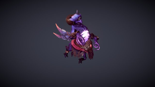 Heir of Terror - Bane Dota 2 Workshop 3D Model