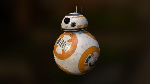 BB-8 Droid 3D Model