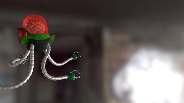 Explorer Neural Droid [animation] 3D Model