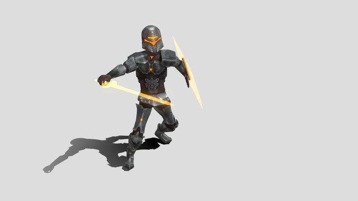 BossBoi_Attack2_Animation_LucaNaselli 3D Model