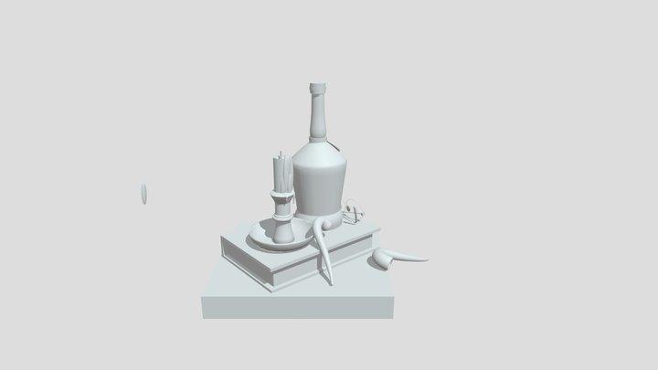 Ruben Olsrud_Compulsory 1 3D Model