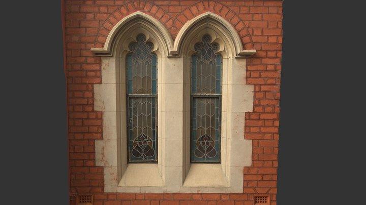 Church window 3D Model