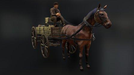 Victorian Horse 3D Model