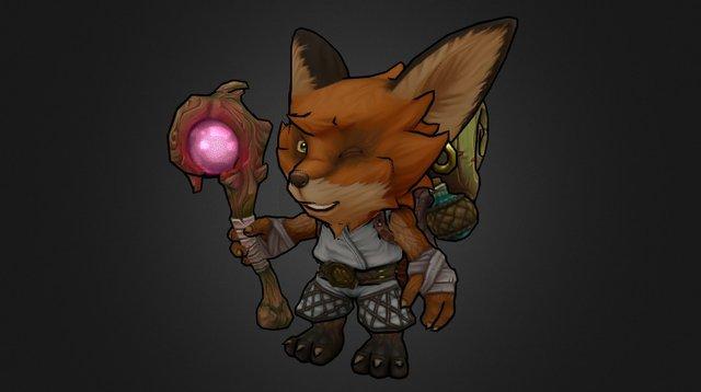 Foxy Scout 3D Model