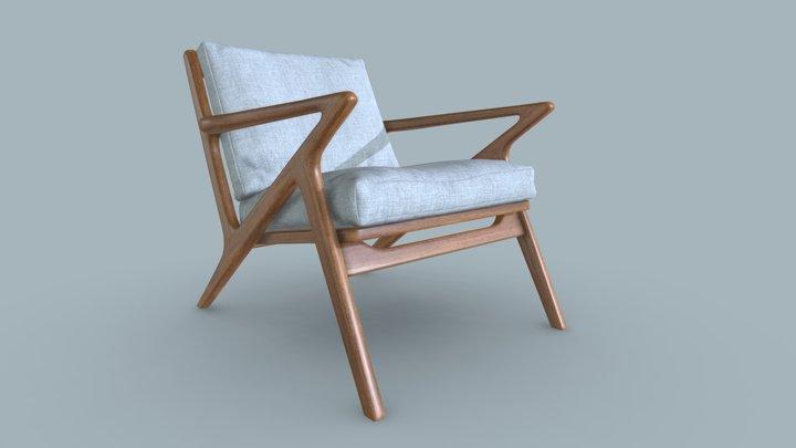 Jet Accent Chair 3D Model