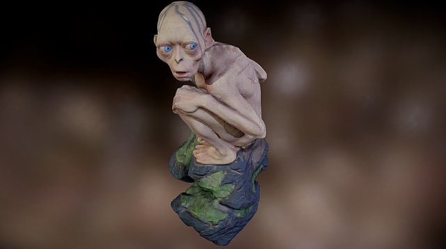 Smeagol - Gollum 3D Model