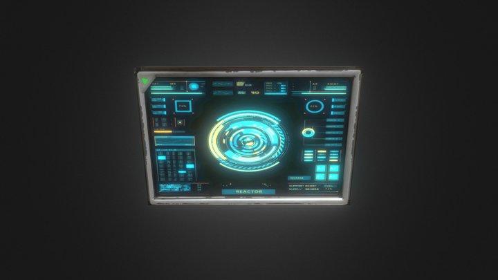 Full screen 3D Model