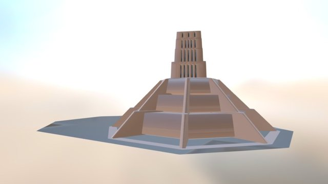 Yavin IV Great Temple 3D Model