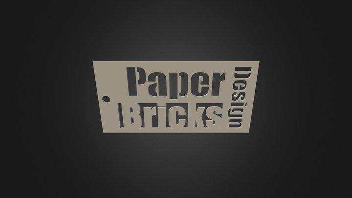 PB Bookmark 3D Model