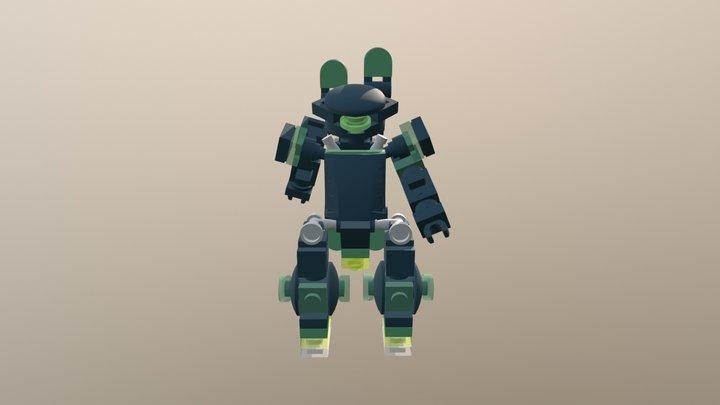 Chub Tron Racer 3D Model