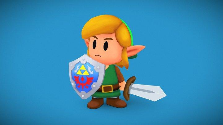 Link - Link's awakening 3D Model