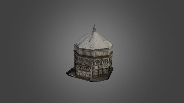 Baptistery di San Giovanni 3D Model